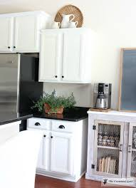 top kitchen cabinets decor decorating above kitchen cabinets the crowned goat