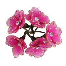 hair accessories online buy hair accessories artificial flower shape hair styling u online
