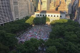 bryant park uses location data for insights on visitors data
