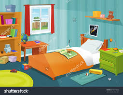 cartoon bedroom background how to draw living room vector free