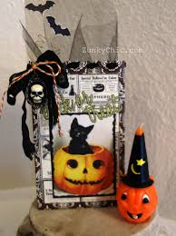 halloween treat bags class with erica the crafty scrapper