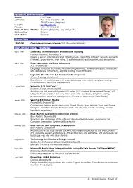 Sample Of Resume Cv by Good Resume Example Uxhandy Com