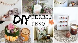 Deko Blau Interieur Idee Wohnung Diy Herbst Deko Ideen 2017 Helloautumn Youtube