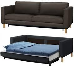 double sleeper sofa chair stunning sectional l short sleeper sofa ikea with 3 pcs