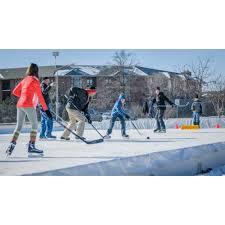 backyard rink kits from hockeyshot your 1 source in hockey