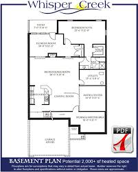 one level floor plans whisper creek floor plans j s homes llc