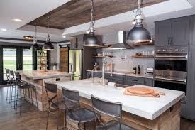 Kitchens With Two Islands Fixer Upper Design Tips A Waco Bachelor Pad Reno Hgtv U0027s