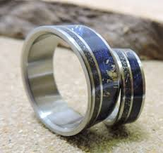 Wedding Rings His And Hers by Wedding Rings Titanium Rings Wedding Ring Set Wedding Band Set