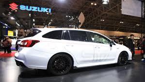 subaru wagon stance 2014 tokyo auto salon subaru levorg sti concept previews