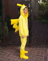 pikachu costume you can make this pikachu costume using pajamas and a few supplies