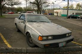 old parked cars 1982 datsun nissan 200sx