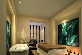 mahjong parlors interior design european style spa room with