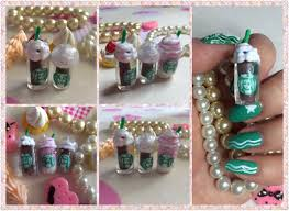 3d nail art tutorial how to make 3d starbucks drink youtube