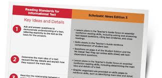 scholastic news edition 3 current nonfiction for grade 3