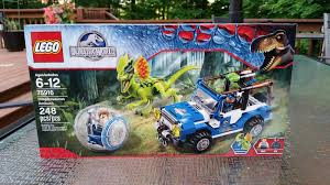 jurassic world jeep toy playing with bricks lego 75916 dilophosaurus ambush jurassic