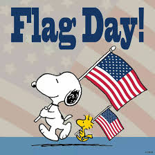 flag day snoopy ˁ ᴥ ˀ peanuts woodstock