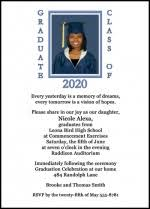 high school graduation announcement wording traditional high school graduation announcements cloveranddot