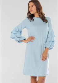 light blue shift dress stoee women english blue shift dress by stoee 140175 buy now at