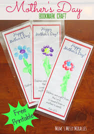 christian mothers day gifts free printable bookmark craft for s day free printable
