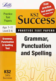 grammar punctuation and spelling practice test papers letts key