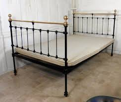 superb quality heavy victorian brass and iron bed antiques atlas