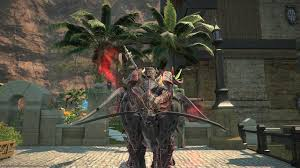 ffxiv halloween war panther mount xivdb final fantasy xiv stormblood database