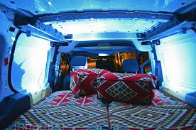 Conversion Van Interiors Ford Van Converted Into Mobile Bedouin Tent 13 Inhabitat U2013 Green