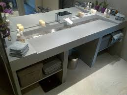 plan de travail cuisine a faire soi meme best fabriquer meuble salle de bain vasque ideas design