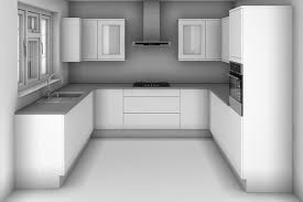 u shaped kitchen design with dimensions kitchen ideas