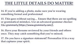 Improve Resume 19 Tips To Improve Your Cv Resume Freshers