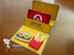fast food gift cards gift card holder birthday your next st