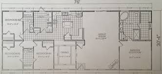 triple wide mobile home floor plans model 249 calvin klein