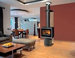 cheminee moderne design normes installation poele a bois dans cheminee pour ne pas réunir