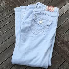 True Religion Jeans Light Baby Blue Sweat Soft 25 Poshmark