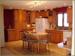 Brands Of Kitchen Cabinets by Cherry Kitchen With Bar Schrock Kitchen Cabinets Brown Wooden