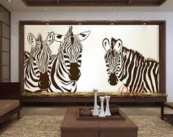 zebra decor etsy