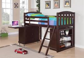 Twin Loft Bed With Desk Underneath Bedroomdiscounters Loft Beds Workstation Beds Tent Beds