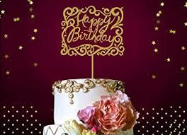 glitter cake topper happy birthday cake topper fabulous gold glitter