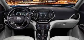 jeep cherokee sport interior 2017 2019 jeep cherokee interior seating comfort