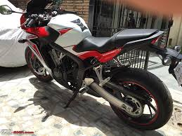 cbr rate in india a dream come true my honda cbr650f edit 4th service update on