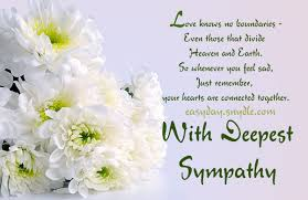 sympathy card messages for loss of loved ones easyday