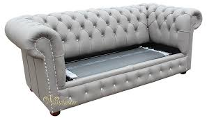 Chesterfield Leather Sofa Bed Chesterfield 2 Seater Sofa Bed Swarovski Crystallized