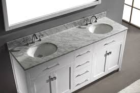 72 Bathroom Vanity Double Sink by Virtu 72 Inch Caroline Bathroom Vanity White