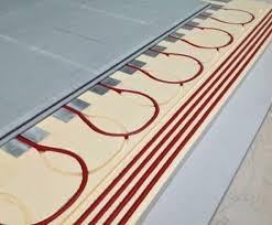 underfloor heating for floating floors warmafloor esi building