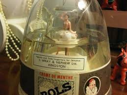 Home Decor Importers Bols Dancing Ballerina Musical Bottle Vintage Collectible