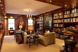 hidden contemporary glass lighting in open floor plan house