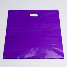 purple plastic bags large a b store fixtures