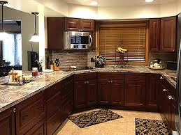 traditional cherry cabinets montana kitchen remodel