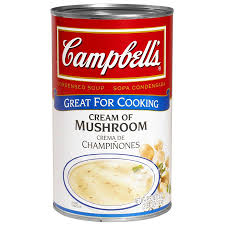 campbell u0027s cream of mushroom soup condensed 50 oz can
