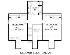 house plan 2288 a the duncan a 2nd floor house plans by southern